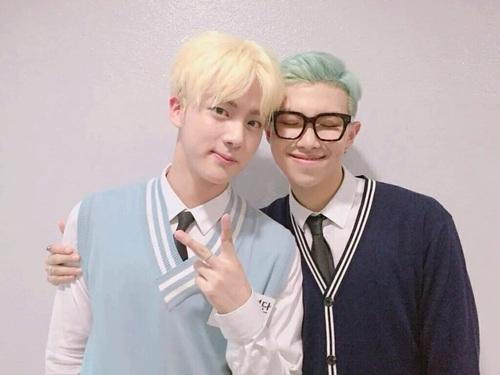 Jin y Rap Monster de BTS confirman su relación